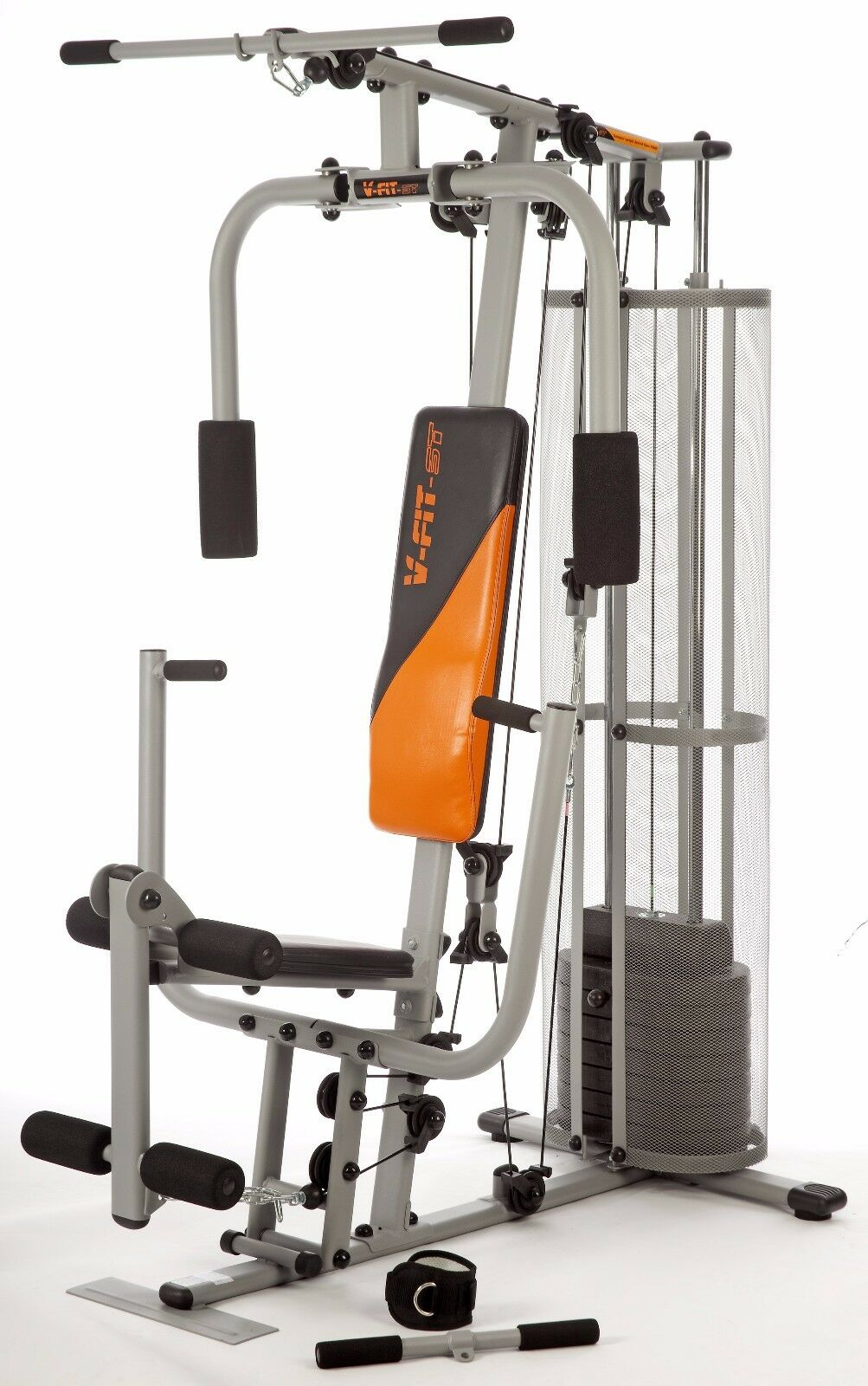 V Fit Herculean Cug2 Compact Upright Home Multi Gym 72kg R