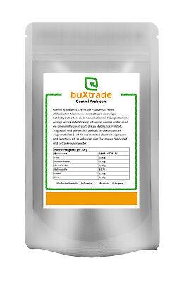 250 g Gummi Arabicum Gummar HT Ballaststoff Gum Arabic spühgetrocknetes Pulver