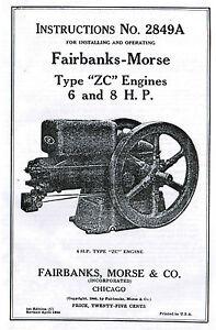 Fairbanks-Morse-Type-Z-ZC-6-8hp-Gas-Engine-Book-Manual-Hit