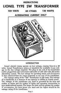 Copy-of-Lionel-SW-Transformer-Instructions-AND-Service-and