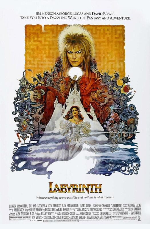 Image result for labyrinth movie poster