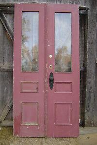 Antique Victorian Double Entrance Entry Exterior Front