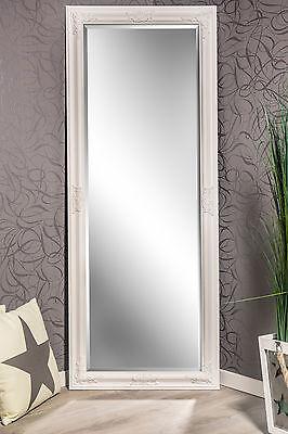 Spiegel Wandspiegel KATHARINA Barock weiß 150 x 60 cm
