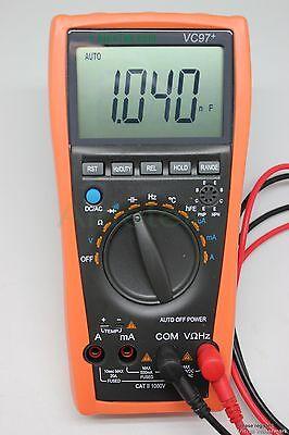 VC97 multimeter AC DC voltage current Capacitance