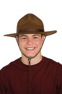 Mounties Hat Ranger Game Warden Drill Sargent 23725