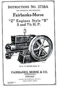 Fairbanks-Morse-Z-B-Engine-Motor-5-7-5hp-Book-Manual-Hit