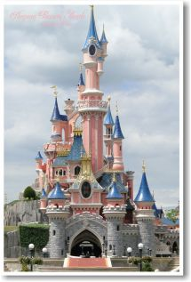 Sleeping Beauty Castle Disneyland Paris - Euro Disney