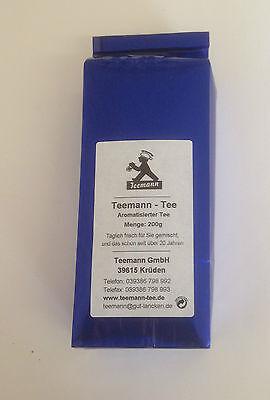 Teemann-Tee: Schwarztee Earl Grey, Artikel 1027, 200g