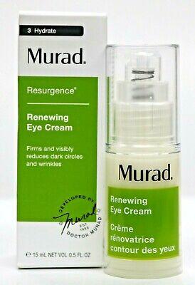 Murad Resurgence Renewing Eye Cream Firms & reduces Circles & Wrinkles (15 ml)