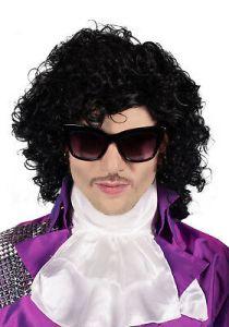 Prince Wig Purple Pop Star Wig Purple Rain 10112