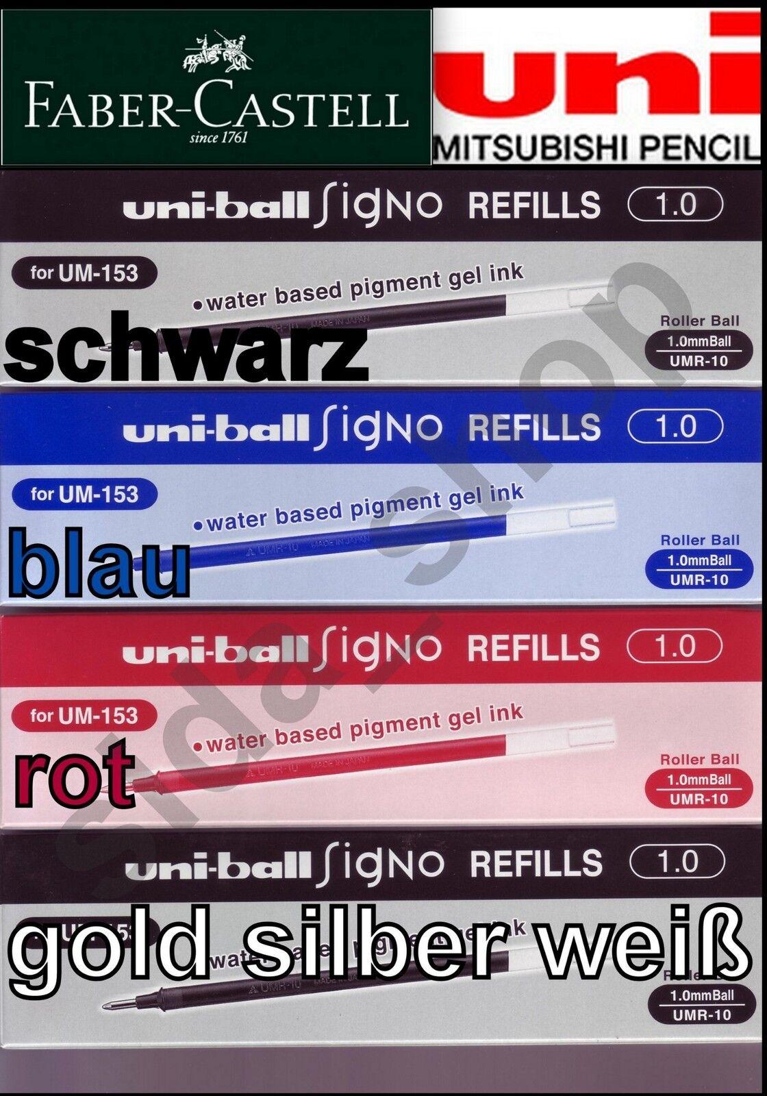 Uniball SIGNO Refill Mine GEL IMPACT UMR-10 für uni-ball Gelschreiber UM-153S