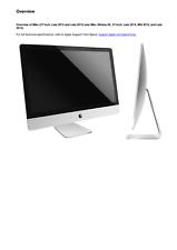 Apple iMac 27-inch Late 2012-2015 and Retina 5K Late 2014-2015 Service Guide   eBay