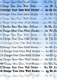 Personalised Wall Sticker Design Your Own Wall art Quote