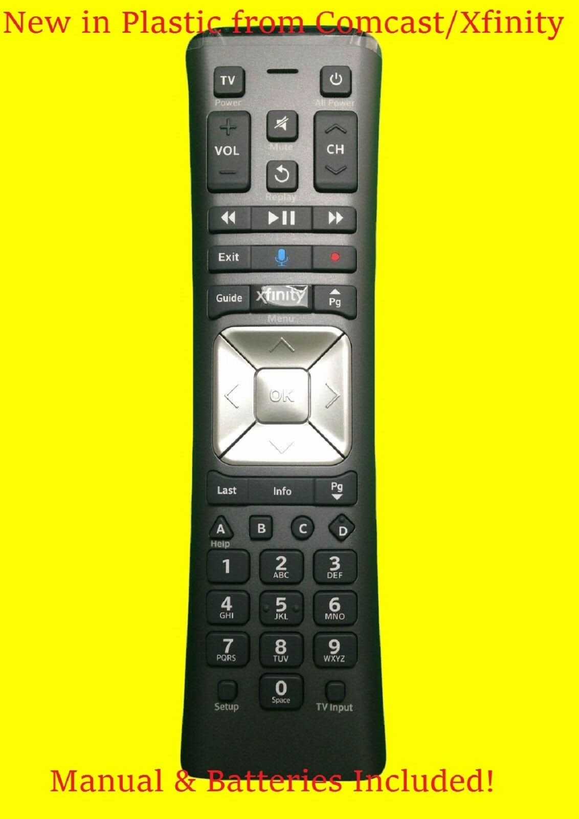 Comcast Legacy Remote Control Box - Year of Clean Water