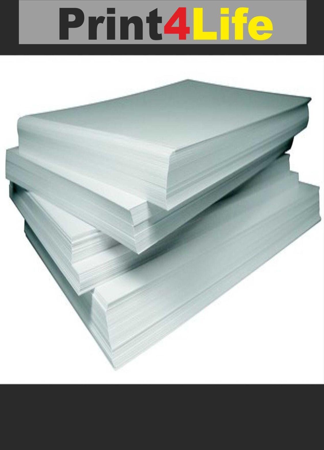 100 Blatt Fotopapier für Laserdrucker A4 170g matt 2-seitig beschichtet Top