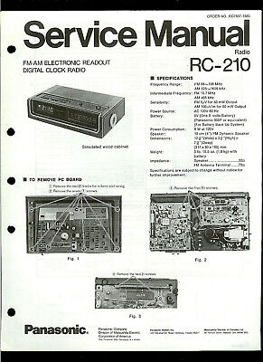 SERVICE MANUAL Technics FM AM Stereo RECEIVER SA 202 NEW