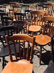 chair cover hire mornington peninsula hip surgery mismatched rustic timber chairs for party gumtree
