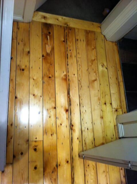 Baltic Pine Floorboards