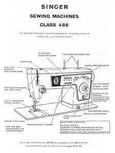 Singer-Stylist-466-Sewing-Machine-Service-Repair-Manual