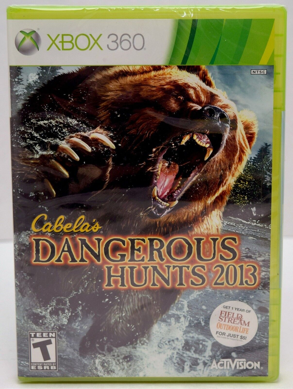 New Xbox 360 Cabela S Dangerous Hunts 2013 Hunting Game
