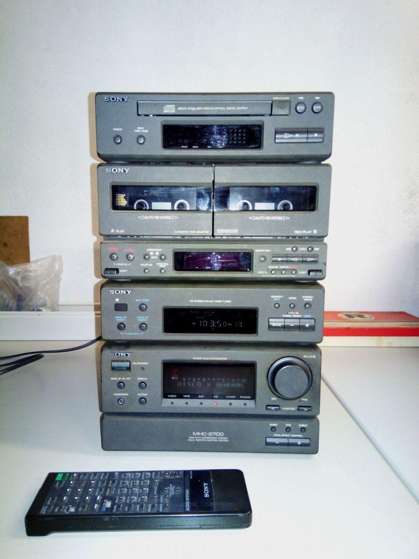 Stereo mini Kompakt Anlage SONY TA-H2700