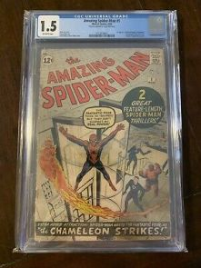 $_1 Top Ranked Silver Age Comic: Amazing Spider-Man #1