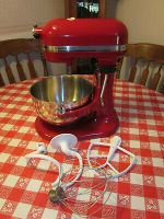 Kitchen Aid Mixer  Professional 5 Plus with attachments !
