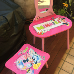 Mickey Mouse Table And Chairs Australia What A Chair Meaning Childs Dressing N Still Excel Cond No Offers