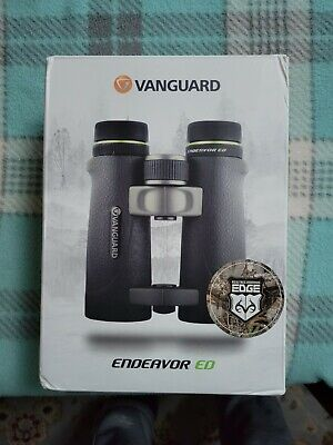 Vanguard Endeavor ED 10x42 RealTree Camouflage Hunting Birding Binoculars - New