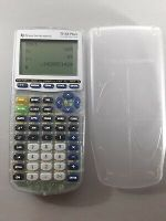 Texas Instruments TI-83 Plus Silver Edition Graphing Calculator Clear (Tested)