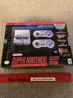 Super Nintendo SNES Mini Classic Edition Control Deck New Never Opened Authen