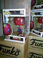 Funko Pop*FREE Protector* Marvel 70s VISION #718 GameStop Exclusive WandaVision