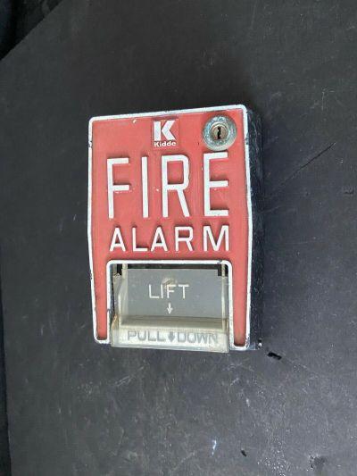 *Vintage* *Rare* Kidde B5 Dual-stage Fire Alarm Pull Station