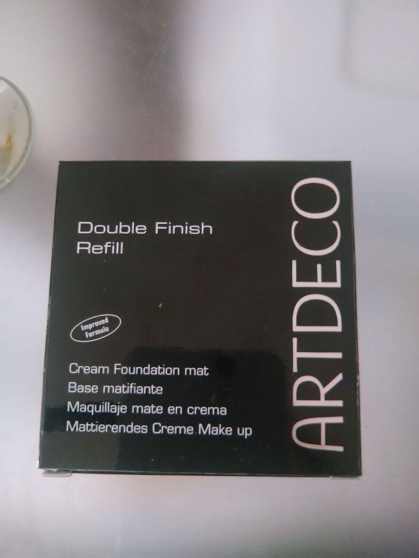 Artdeco Doubel Finish refill mattierendes Creme Make up 9g neu