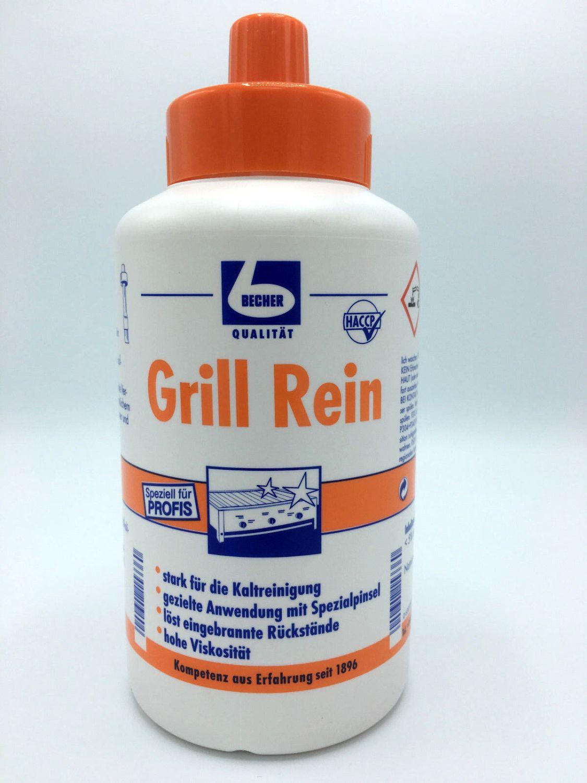 Grillrein Dr. Becher Grill Reiniger mit Pinsel 1,0l Fettreiniger