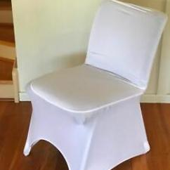 Wedding Chair Covers For Sale Australia Ghost Target Lycra White Miscellaneous Goods Gumtree