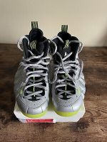 Pre Owned Nike Air Foamposite One Metallic Silver Volt Size 8.5