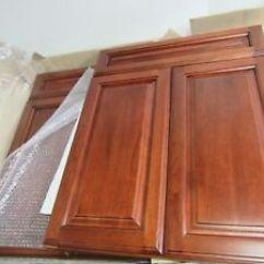 Kitchen Sink Cabinets Bench Seating Base Cabinet Ebay Bathroom Doors Solid Walnut W Face Frame 24 X 30 Lot