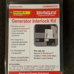 Homeline Outdoor Load Center Wiring Diagram Tooth With Names Schneider Square D Cover Generator Inter Lock Main Stock Photo