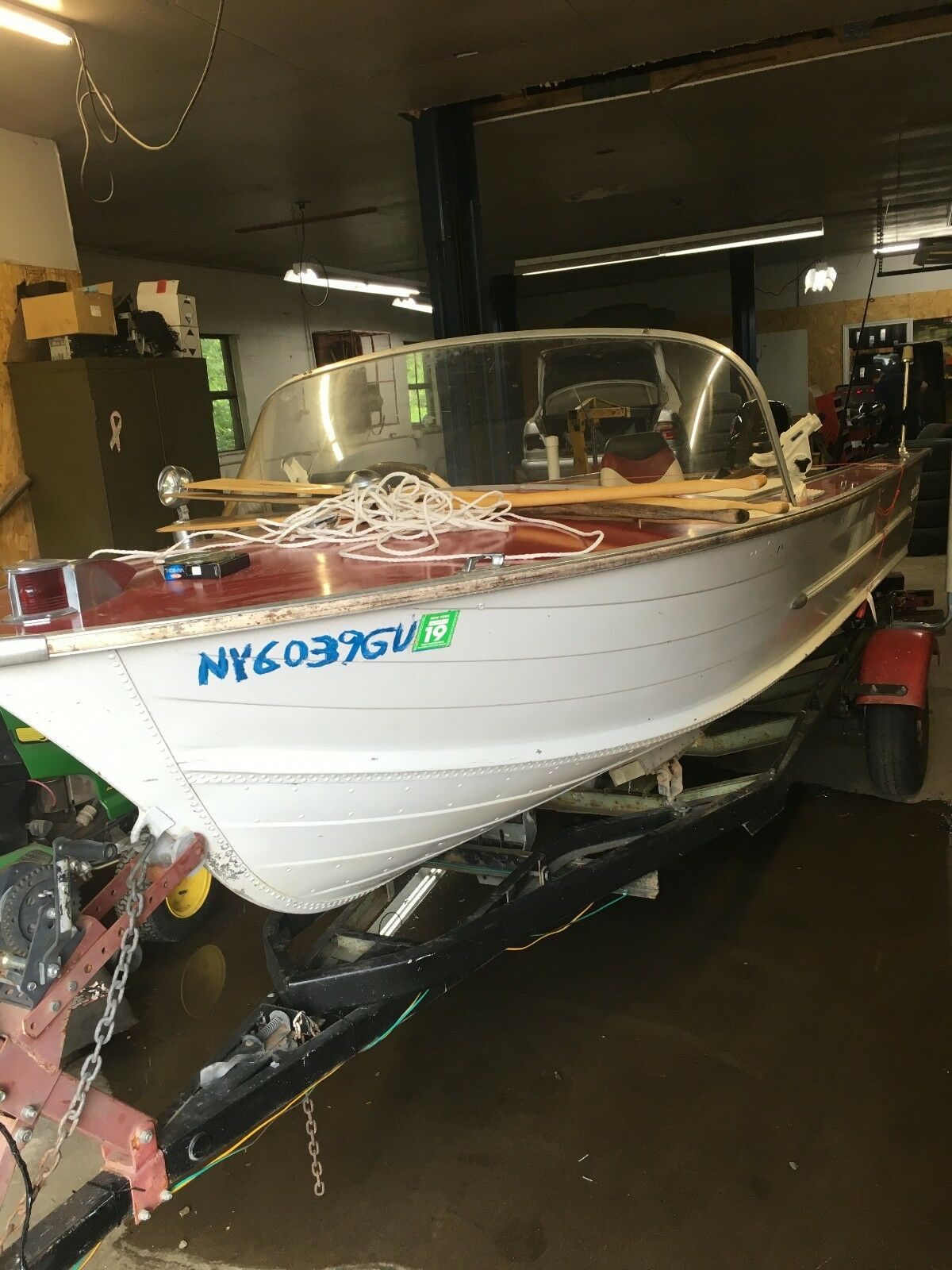 1961 Starcraft Viking 16 Aluminum Outboard Fishing Boat
