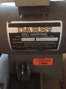 Darex Drill Sharpener 13 Hp
