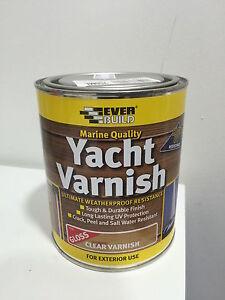 Clear Yacht Varnish EBay