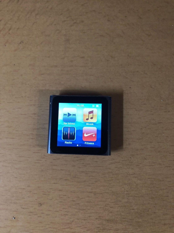 Apple iPod nano 6. Generation Blau (8GB) Komplettpacket