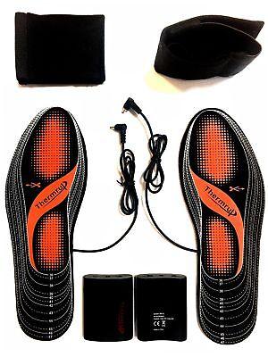 Beheizbare Einlegesohlen Thermosohlen Schuhheizung Schuheinlagen Gr. 35-47