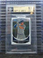 2013 Bowman Chrome Mini Aaron Judge Prospect Card #311 BGS 9.5 Yankees L27