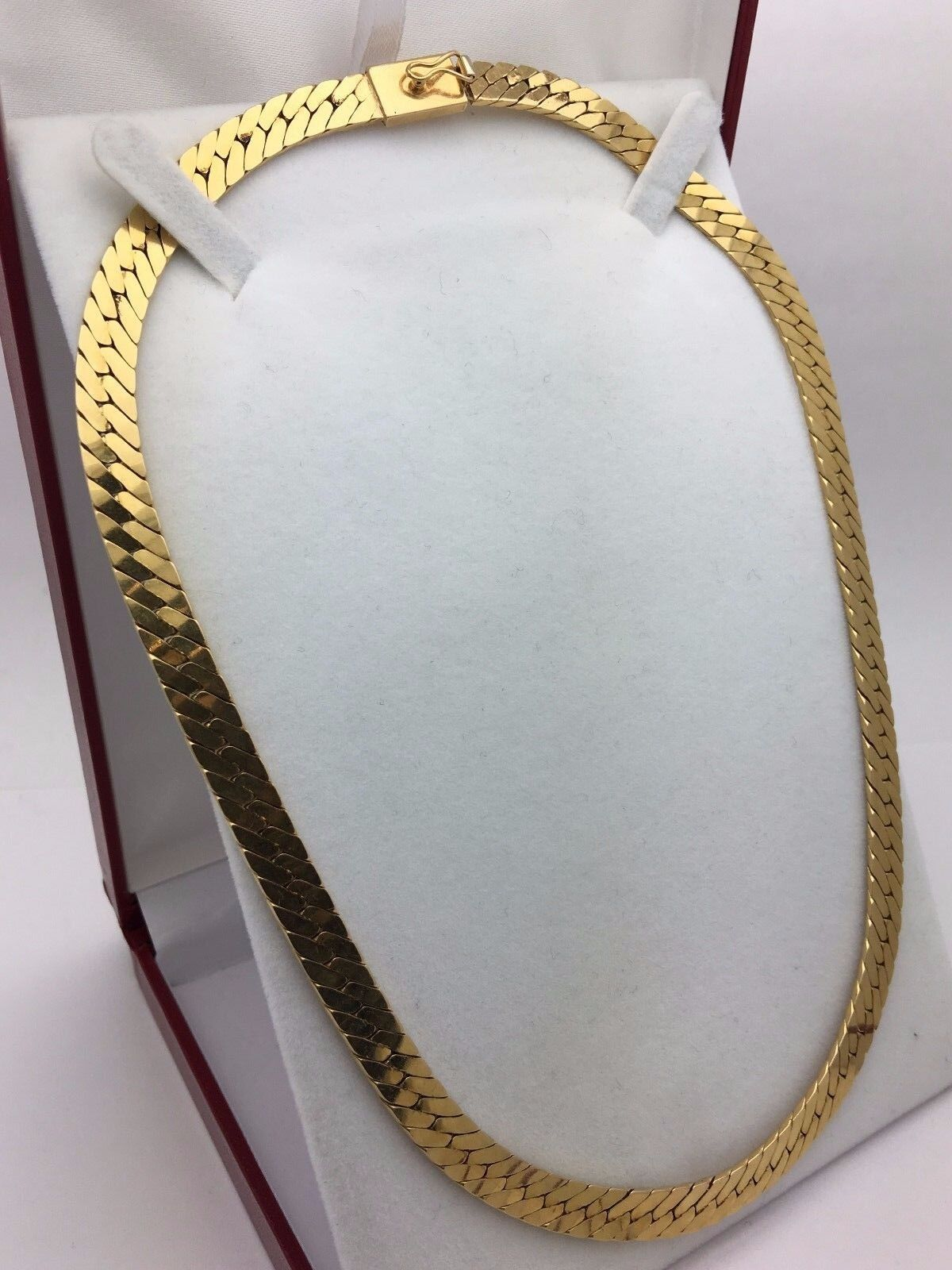 Solid 14k Yellow Gold 18