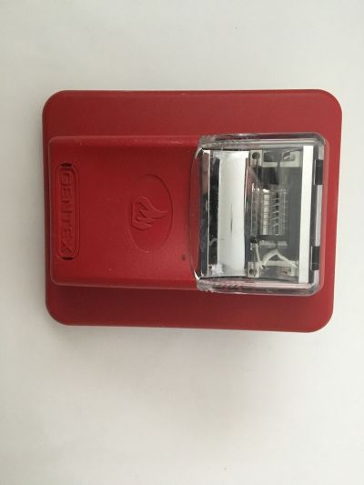 Gentex ST24-110WR Commander Fire Alarm Remote Strobe Red