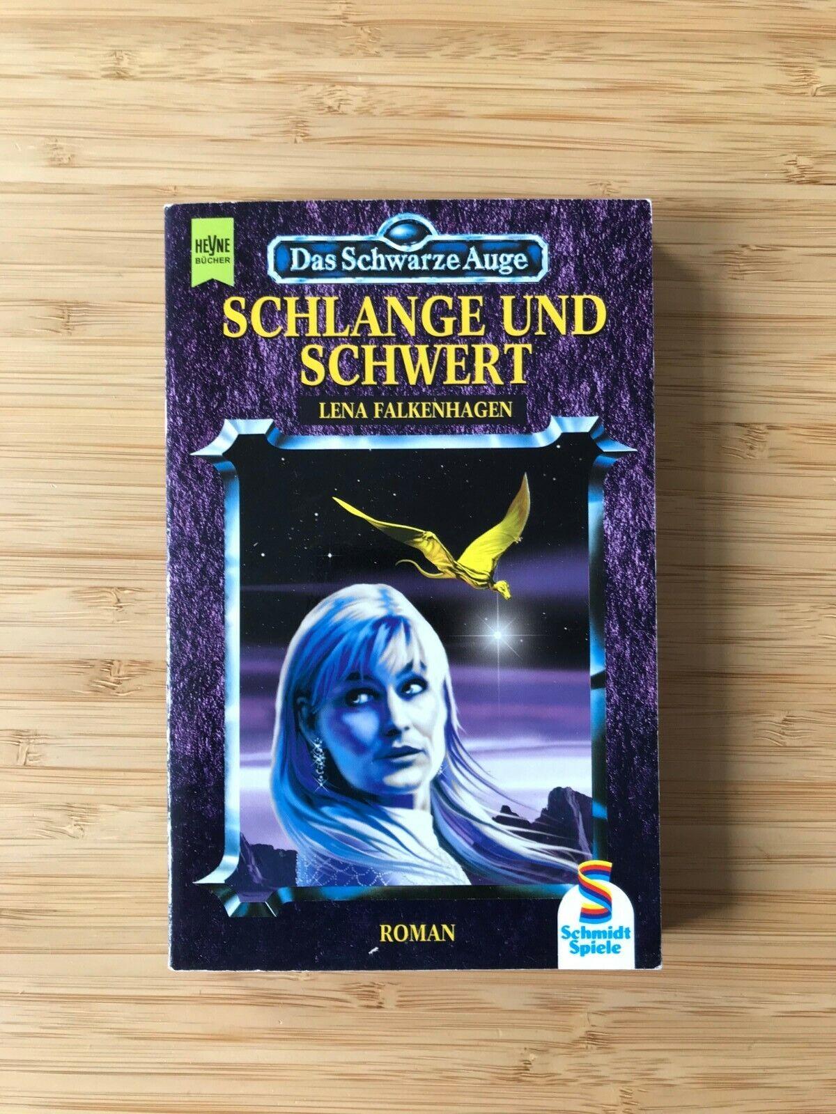 Das Schwarze Auge – Schlange und Schwert – Lena Falkenhagen – DSA Roman 21