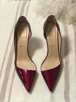 Christian Louboutin Patent Leather Red Heels- EU41
