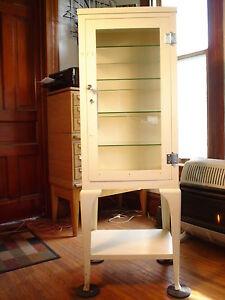 Antique Pharmacy Cabinet